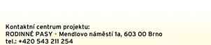 Rodinné pasy, Mendlovo náměstí 1a, 603 00 Brno, tel.: +420 543 211 254