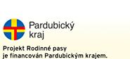 Pardubický kraj, projekt Rodinné pasy je financován Pardubickým krajem