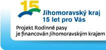 Jihomoravský kraj, projekt Rodinné pasy je financován Jihomoravským krajem